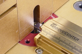How to set up a Lock Miter Bit