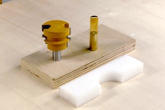 Reverse Glue Joint Router Bit